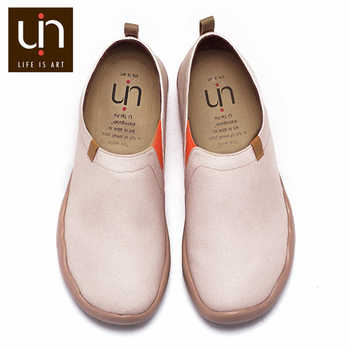 UIN Oak Design Women Casual Shoes Wide Feet Comfort Loafers Ladies Super Lightweight Soft Sneakers Round Toe Nurse Work Shoes - DISCOUNT ITEM  50% OFF All Category