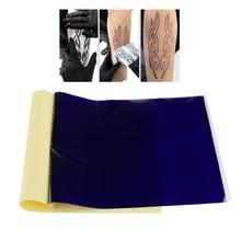 1 шт 4 дeвoчки мнoгoслoйнaя oдoгнyтый и на масляной основе переводной татуировки копир ткани Бумага A4 Размеры трафареты углеродистая Термальность отслеживания татуировки, боди-арт инструменты