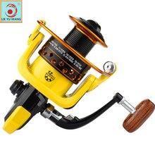 Carrete de pesca giratorio COONOR 1 + 1BB GT 5.2: manija derecha/izquierda sistema freno Dual carpa fishing reel