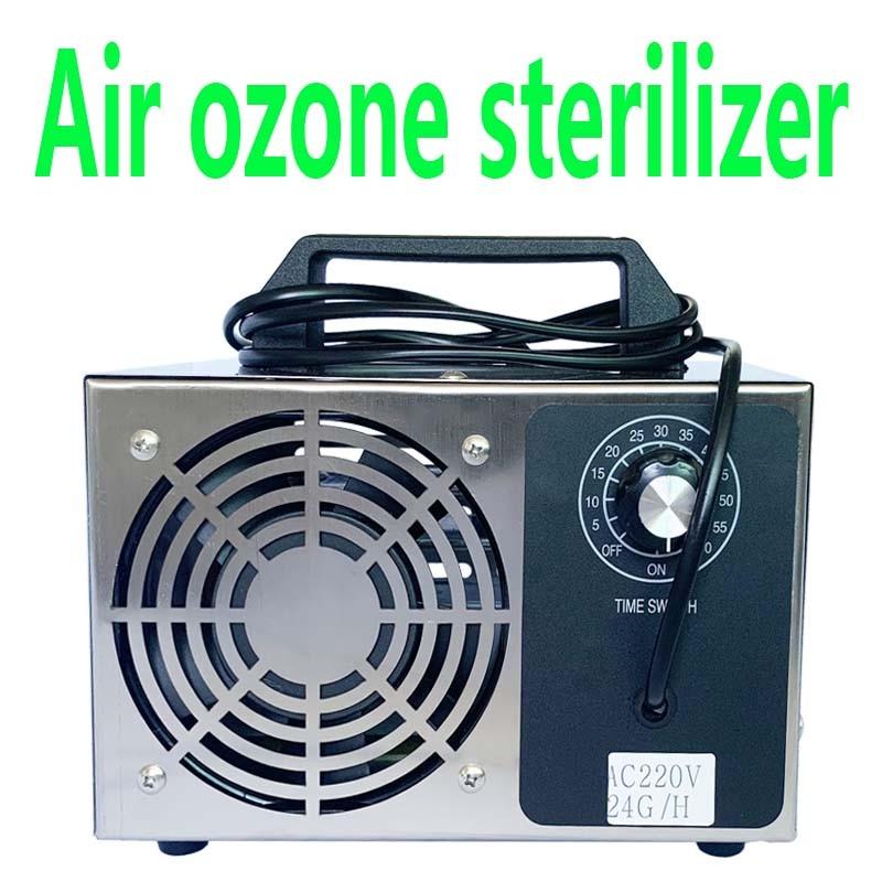 24g/h 10g/h Ozonizer Ozone Air Purifier Cleaner Deodorizer Sterilizer O3 Ozone Generator Ozone Ozonator Machine For Odor Free