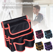 New Electrician Tools Belt Tools Bag Multifunctional Tool Bag Tools Pouch Repairing Accessories Tools Belt-30 tools