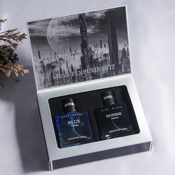 30ml+30ml original men's perfume lasting fragrance charm men's cologne spray gift box two-piece set chuang code 30ml