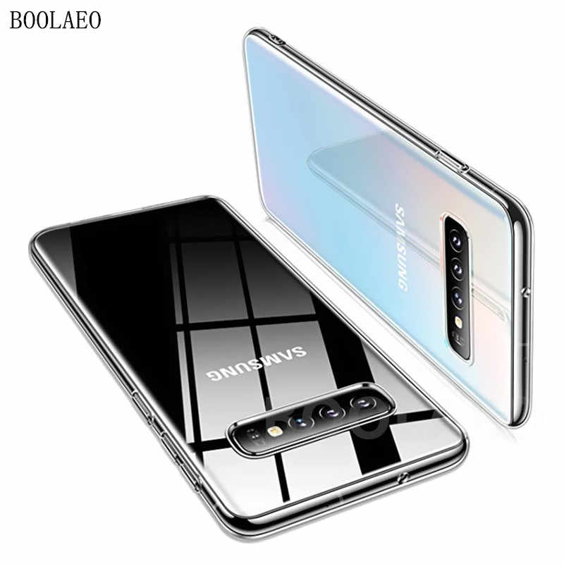 Clear Silicone Soft Case Voor Samsung Galaxy NOTE 10 S10 S9 S8 Plus lite A10 A20 A30 A40 A50 A60 a70 S7 Capinhas Cover phone Case