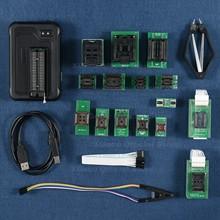 V10.80 xgecu t56 programador 56 pinos apoio 26084 + ics para pic/nand flash/emmc tsop48/tsop56/bga + 17 peças
