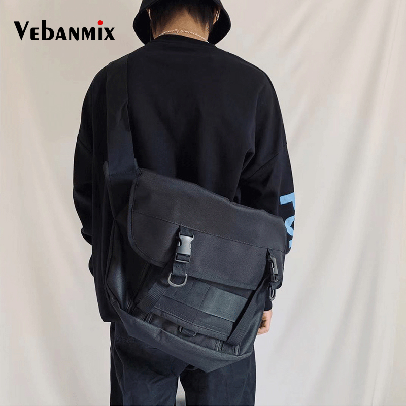 Multifunction Messenger Shoulder Bag High Quality Oxford Casual Messenger School Bag For Teenage Outdoor Travel Bags Handbag