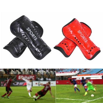1 Pair Soccer Football Shin Guard Teens Socks Pads Professional Shields Legging Shinguards Sleeves Protective Gear 2 image