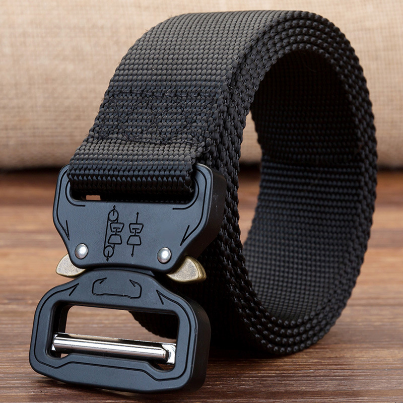 19 NEW Military Equipment Combat Tactical Belts For Men US Army Training Nylon Metal Buckle Waist Belt Outdoor Hunting Waistband