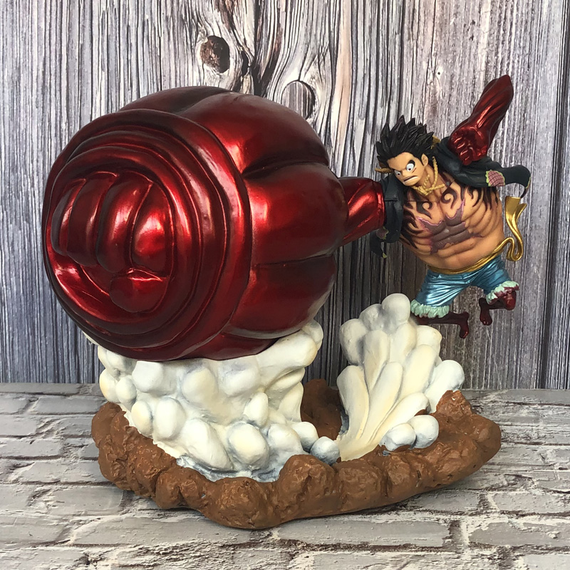 <font><b>One</b></font> <font><b>Piece</b></font> GK Statue Premium Edition 4th Gear Big Hand Ape King Gun <font><b>Luffy</b></font> Limited Action Figure Collection Model toys Y1245 image