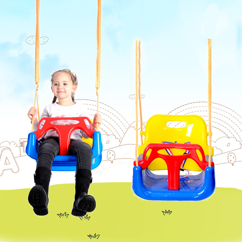 2in1 enfants balançoire à bascule chaise détachable pour bébé adultes Carton porte chaise pivotante bébé berceau chaise suspendue balançoire hamac