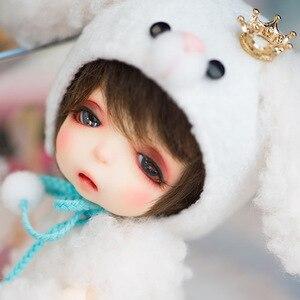 Новый полный набор 1/8 BJD кукла милая кукла подарок на день рождения для ребенка