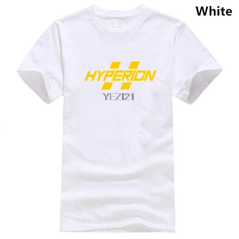 Männer Schwarz Baumwolle Borderland Hyperion Logo T-shirt