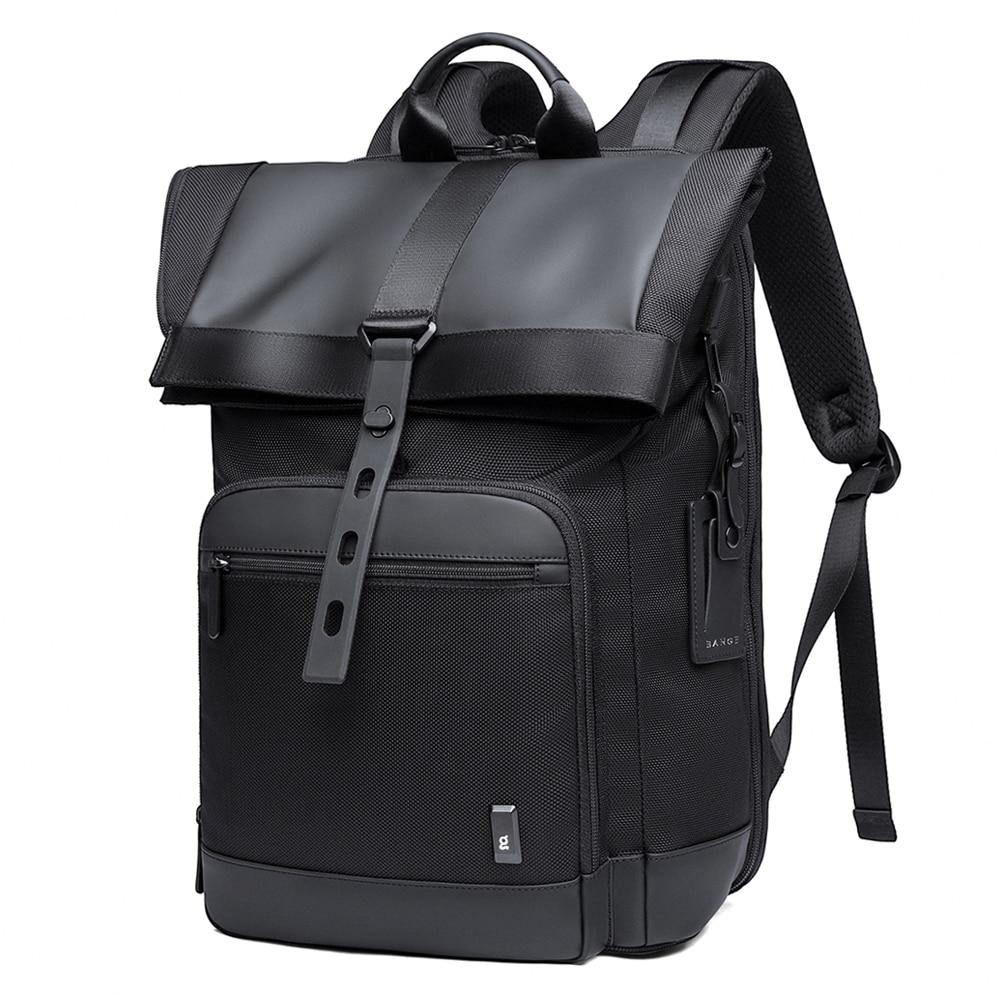 Tangcool Men Fashion Backpack Multifunctional Waterproof Backpack Daily Travel Bag Casual School Rucksack For Unisex