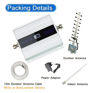 Image 2 - ZQTMAX 60dB مكرر 3G WCDMA إشارة الداعم 3G UMTS 2100 المحمول الخلوية مكرر إشارة مضخم الهوائي 3g إشارة