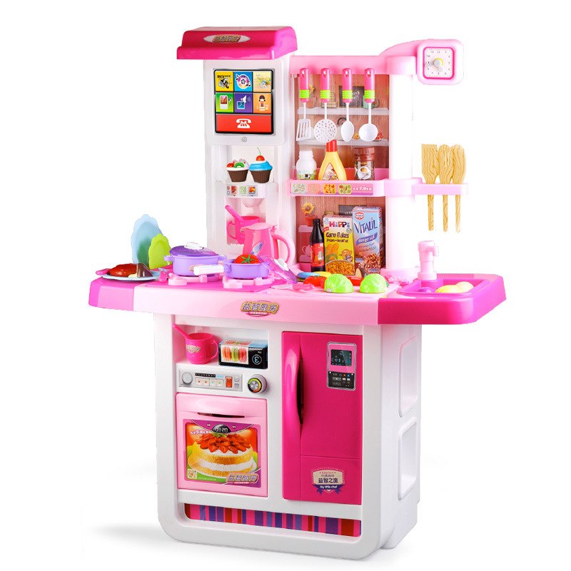 Have Toy Children Model Every Family Set Kitchen Kitchenware North America Cook Cooking Kids Guangdong Province Baby Product