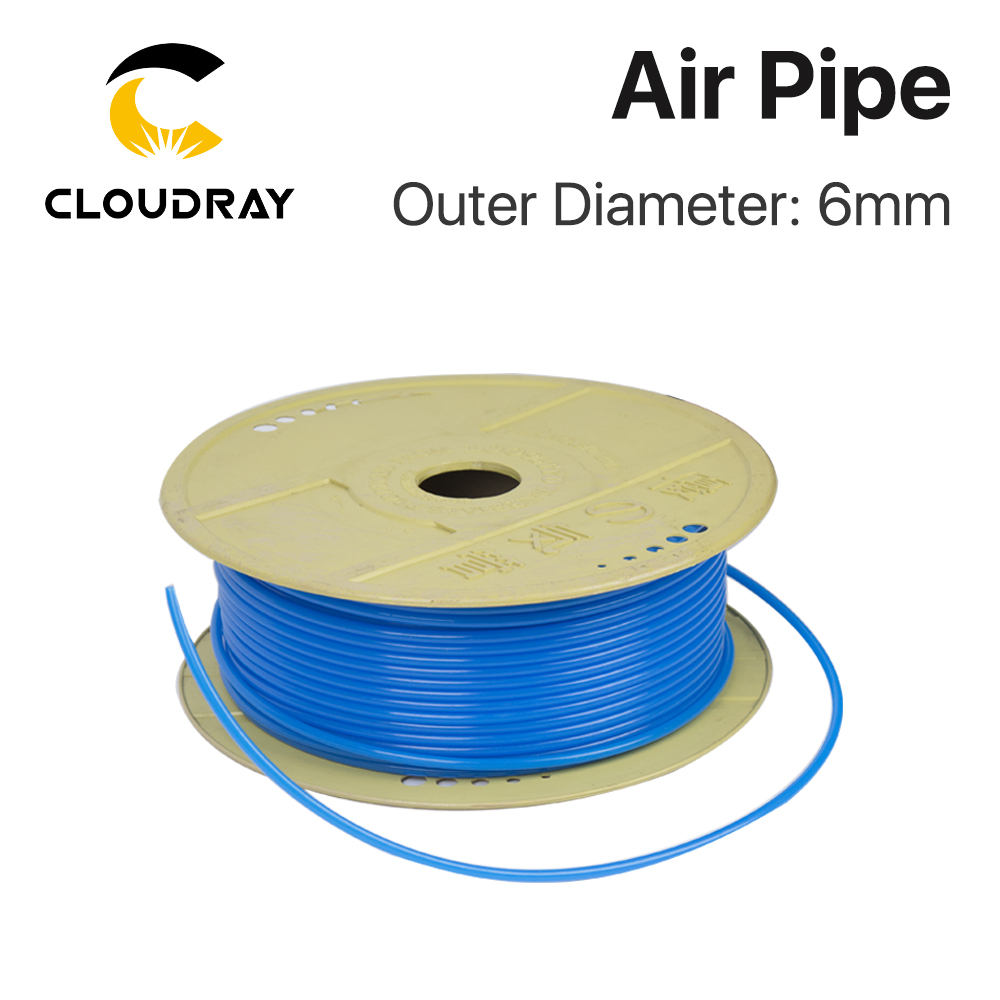 Cloudray Air Pipe Air Hose Outer Diameter 6mm For Air Compressor High Quality