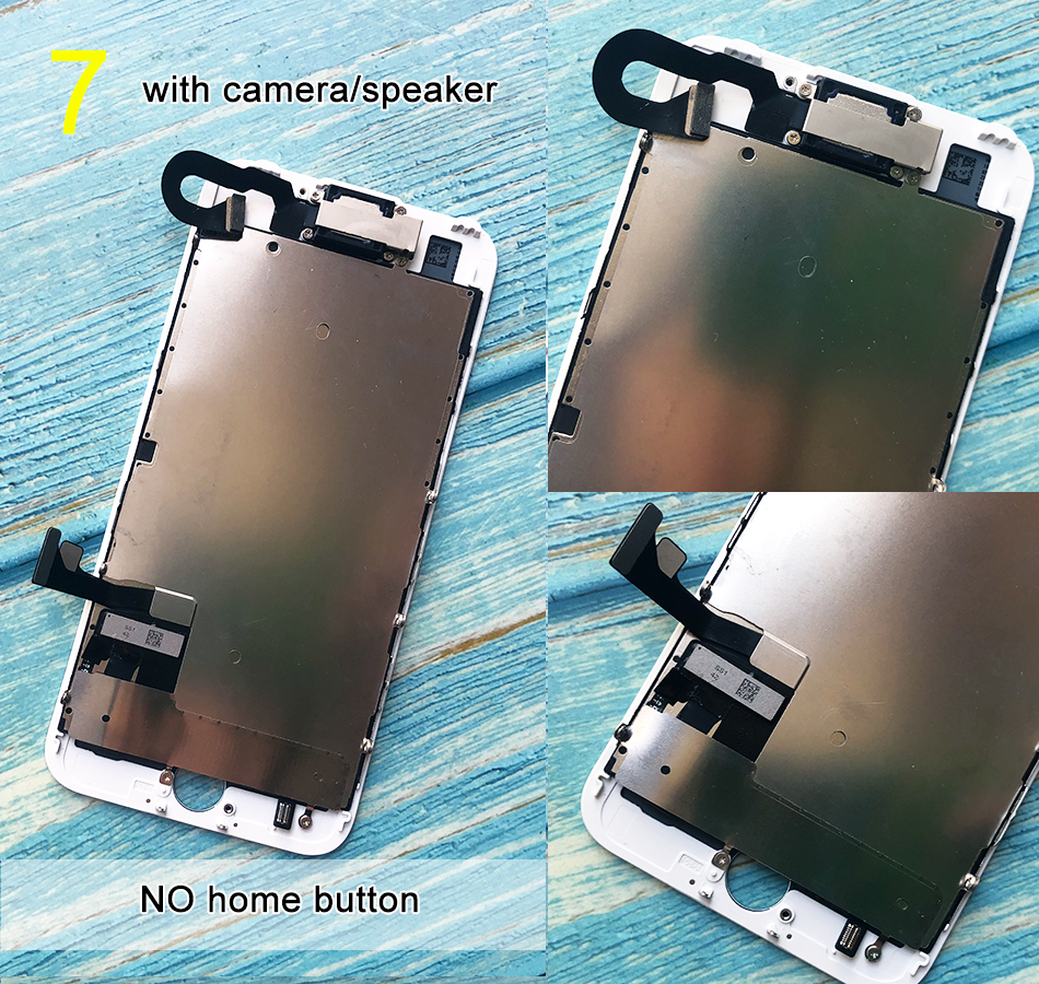 H332d8d5bfa5f46f09654adedb37938e9I For iPhone 6 LCD Full set Assembly Complete Touch For iPhone 6S Screen Replacement Display For iphone 7 lcd camera+home button