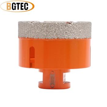 цена на BGTEC Diameter 68mm Vacuum brazed diamond drilling core bits M14 connection Drill bits granite marble ceramic  hole saw