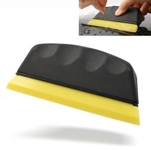 FOSHIO Car Cleaning Tool Rubber Blade Window Tinting Squeegee Carbon Fiber Film Vinyl Wrap Water Wiper Scraper Sticker Remover