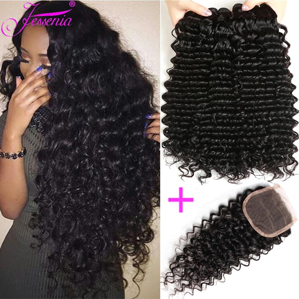 JESSENIA, волнистые человеческие волосы, пучки для наращивания, Малайзия, волосы, пучки, натуральный цвет, не Реми, волосы, плетение, 8-16 дюймов