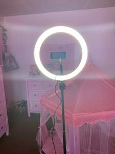 Cell-Phone-Holder Tripod-Stand Ring-Light Video-Photography Led-Camera for Makeup Youtube