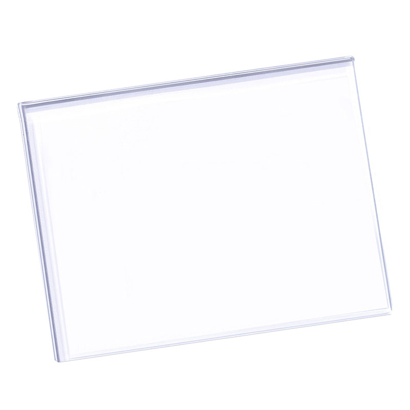 Tempered Glass Transparent DIY Craft Leather Grinding Plate Cutting Pad 13*10cm