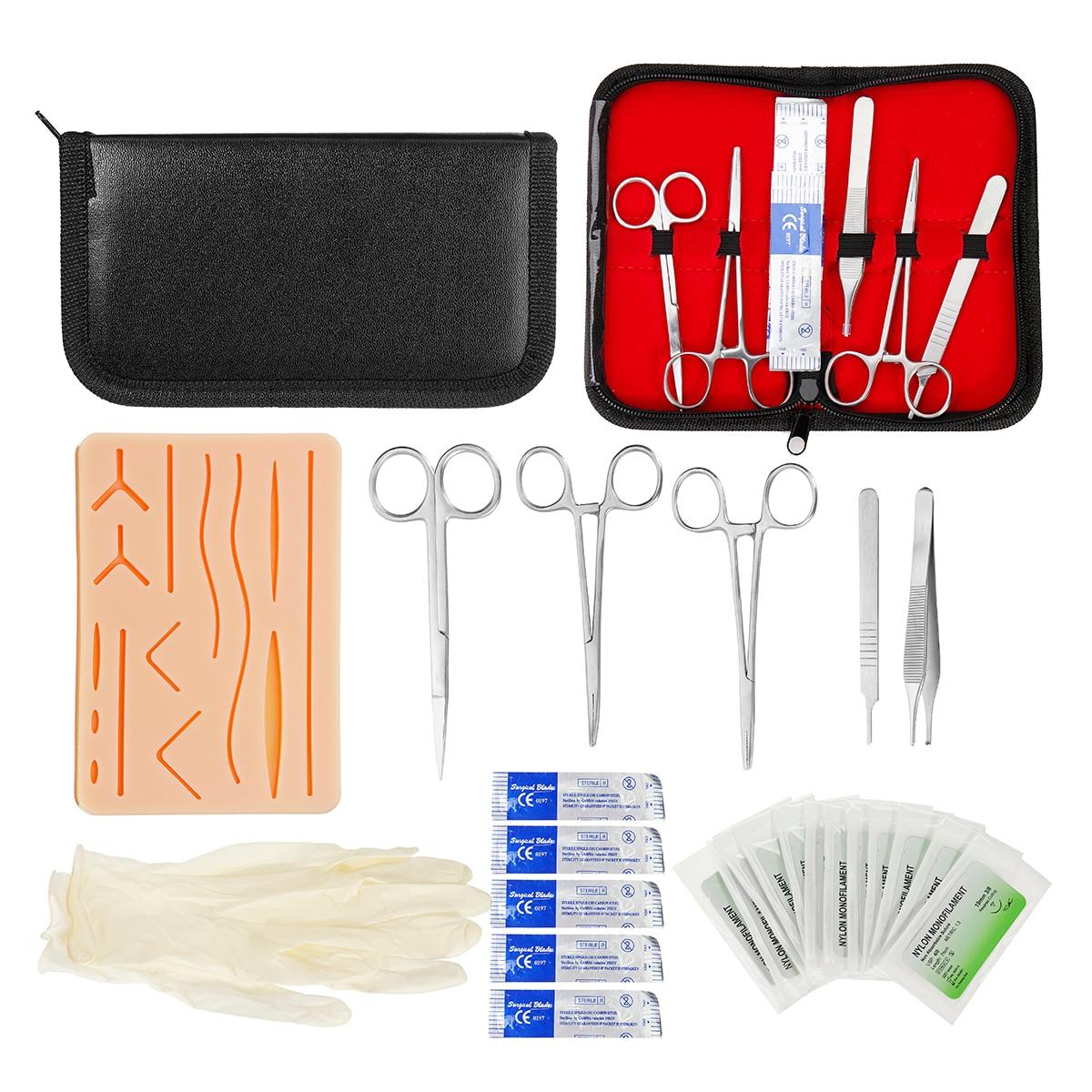 25-en-1-peau-medical-suture-chirurgicale-formation-kit-de-suture-formation-silicone-pad-aiguille-ciseaux-outil-kit