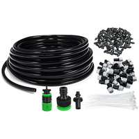 25m Plant Drip Irrigation Kit Automatic Watering DIY With Nozzle Accessories Garden Hose Agriculture Patio Greenhouse Misting|Watering Kits|   -
