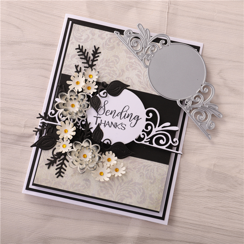 Lace Hollow Metal Cutting Dies Scrapbooking Die Embossing Paper Card Album Craft