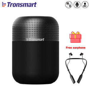 【Free earphone】Tronsmart Element T6 Max 60W waterproof TWS Bluetooth Speaker 360 Stereo Sound Deep Bass Home Theater Column
