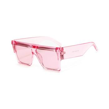 Hojne ramki zmodyfikowane okulary przeciwsłoneczne męskie niebieskie płaskie okulary kwadratowe szkła okulary damskie różowe okulary przeciwsłoneczne wszystkie mecze tanie i dobre opinie Anti-glare Polaryzacja Anti-Fog Anty-uv Pyłoszczelna Ochrona przed promieniowaniem