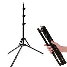2M 6,5 ft Stehen Stativ Folding stand Licht Stehen Für Softbox Foto Video Beleuchtung Blitzgerät Lampen/regenschirm Flash