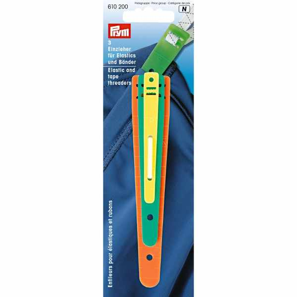 PRYM 610200 Elastis dan Tape Threaders