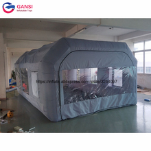 цены Free Shipping Customized Inflatable Spray Booth Car painting Inflatable Spray Paint Tent With High Quality