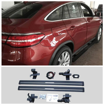 Electric Motor Automatic Switch Closed Running Boards For Mercedes Benz GLE Coupe C292 2016-2021 Side Step Bar Pedals Nerf Bars