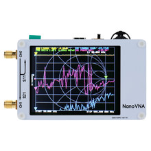 NanoVNA Vector Netwerk Analyzer Antenne Analyzer Staande Golf 50 KHz-900 MHz Digitale Aanraken Screen Kortegolf MF HF VHF UHF(China)