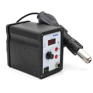 Image 3 - Hot Air Gun 858D BGA Rework Solder Station Blower Hair Dryer Hairdryer Soldering Heat Gun 220V For SMD SMT Welding Repair