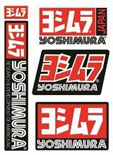 Yoshimura Exhaust Racing Motorcycle Helmet Decal Japan JDM JEEP Van Bike Offroad RV A4 Q3 Polo Deco Meterial