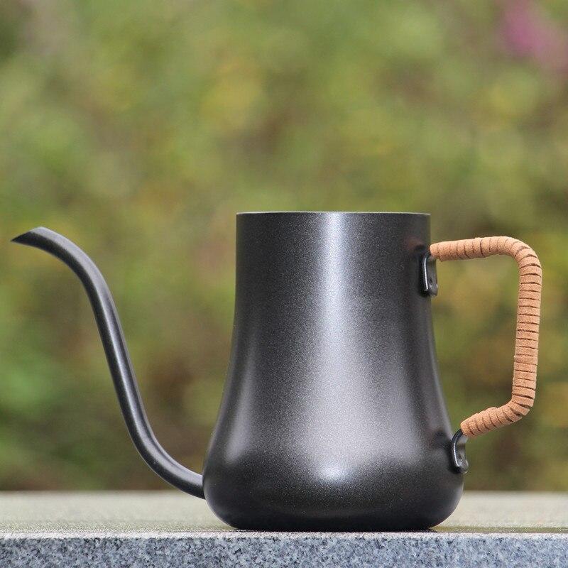 Тефлоновый антипригарный чайник с гусиной шеей из нержавеющей стали, 300 550 мл|coating|coating teflon  | АлиЭкспресс - Чай вдвоем