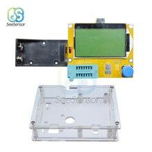 ESR Meter Mega328 Transistor Tester Multimeter Digital ESR-T4 Diode Triode Capacitance MOS/PNP/NPN LCR 12864 LCD Screen Tester цены