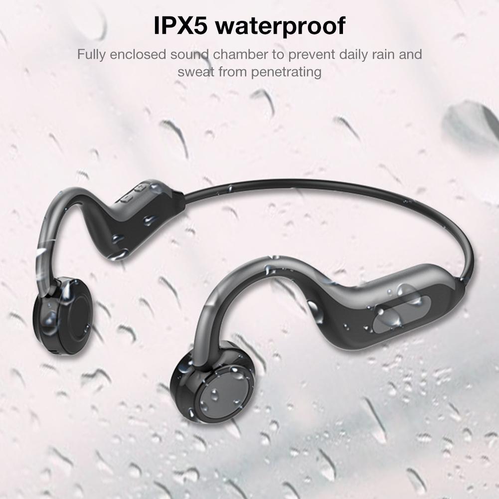 Беспроводные Bluetooth Наушники V4.1 Hands Free наушники с стерео шумоподавлением микрофон, совместимые iPhone Android Сотовые телефоны Dri - 5