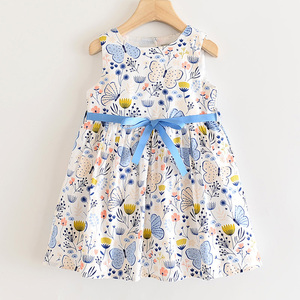 Image 3 - LOVE DD&MM Girls Dresses 2020 New Sweet Yellow Butterfly Print Princess Kids Dresses For Girls Clothing Costume