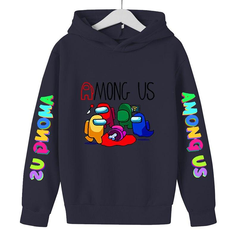 Children Clothing Hoodie For Kid Girls Tops Boys Hoodie Impostor Graphic Costume Kids Sweatshirt Sudadera Hombre 4-14Y 3