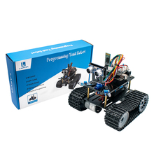 LAFVIN Car-Kit Tank-Robot Programming Education Mini NEW for with Tutorial