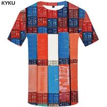 3d Tshirt Geometric T shirt Men Square Shirt Print Metal Anime Clothes Gothic Tshirts Casual Rock Funny shirts Short Sleeve