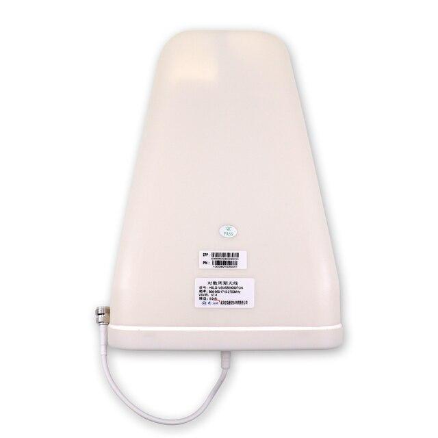 2G 3G 4G anten açık Yagi 800 2500 Log periyodik harici LPDA anten cep telefonu için telefon sinyal tekrarlayıcı güçlendirici amplifikatör