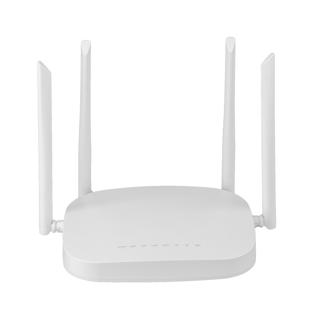 4G LTE Smart WiFi Router 300Mbps High Power SIM Card Wireless CPE Router With 4pcs External Antennas Qualcomm Chip