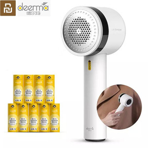Image 1 - Youpin Deerma Lint Remover Hair Ball Trimmer Sweater Portable 7000r/min Motor Trimmer Concealed sticky Hair Tube USB Charging