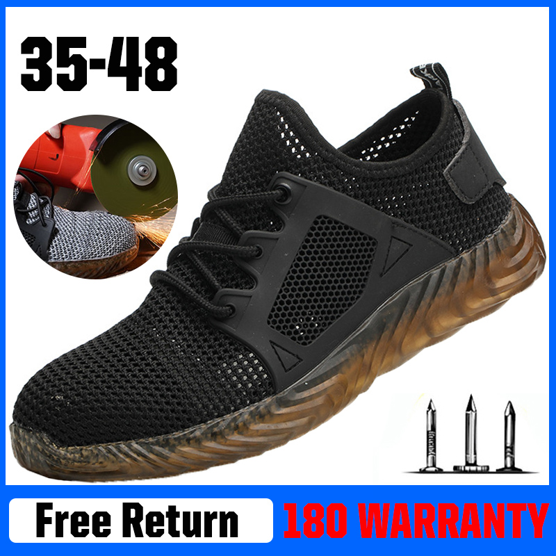 Women's Safety Work Shoes Men With