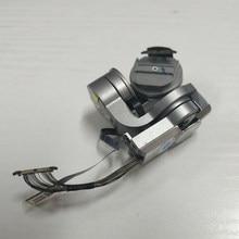 Original dji mavic pro cardan câmera braço do motor suporte com escudo mavic pro cabo flexível transmissão de vídeo cabo peças reparo
