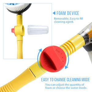 Image 4 - กระแสเงินสดโฟมแปรงหมุนเครื่องซักผ้าไมโครไฟเบอร์ChenilleรถทำความสะอาดยานพาหนะSelf แปรงฟองน้ำทำความสะอาดเครื่องมือ
